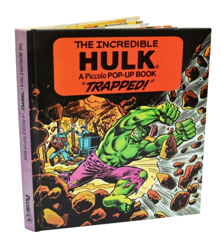"The incredible Hulk ""Trapped!"", front cover"
