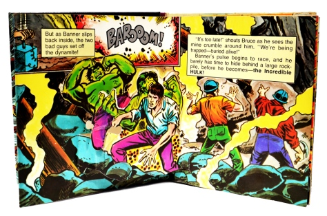 "The incredible Hulk ""Trapped!"" , pages 4 and 5"