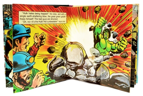 "The incredible Hulk ""Trapped!"", pages 6 and 7"