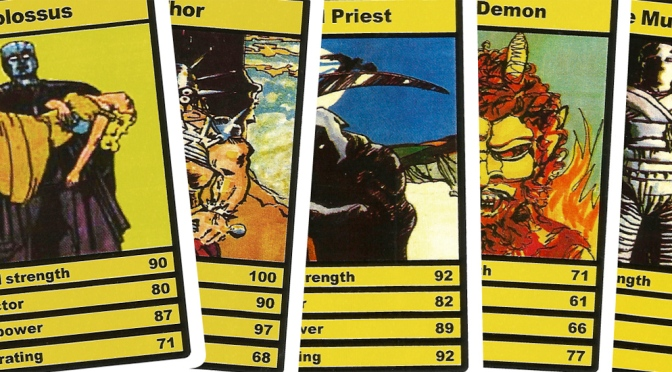 Top Trumps Horror cards, Devil Priest set (1978)