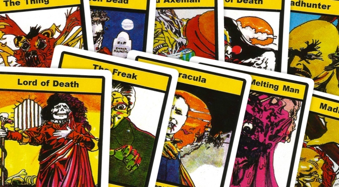 Dracula top trumps cards 1978