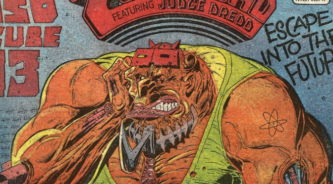 2000AD Comic Prog #497 (22nd November 1986)