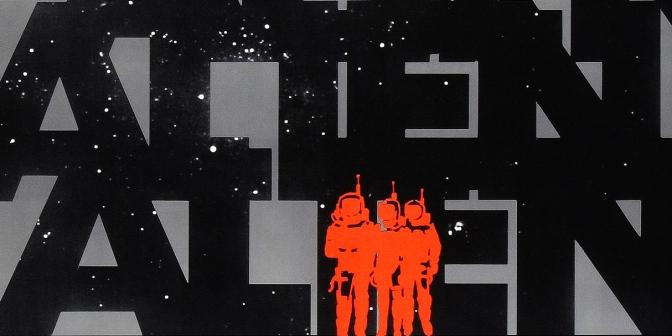Alien teaser poster (1979)