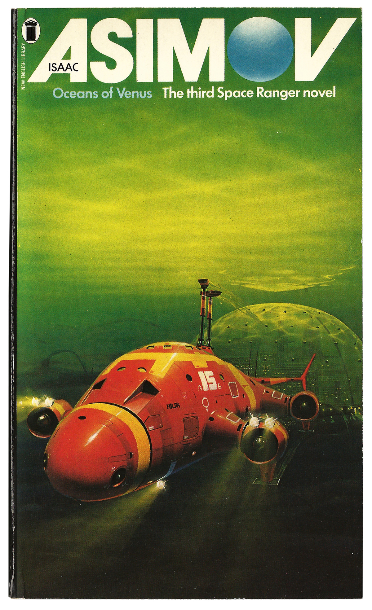 Paperback Covers 8 Peter Elson S Space Ranger Series