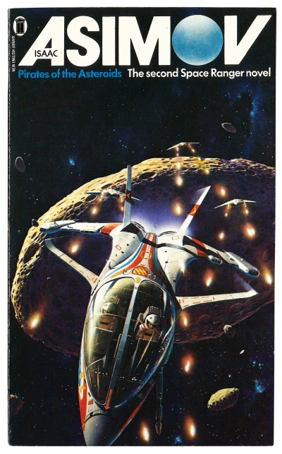 Pirates of the Asteroids by Isaac Asimov. Artwork by Peter Elson.