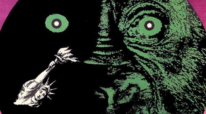 Planeta Malp (Planet of The Apes) poster by Eryk Lipinski (1969)
