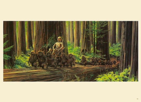 Return of the Jedi Portfolio by Ralph McQuarrie