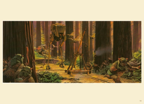 Return of the Jedi Portfolio by Ralph McQuarrie