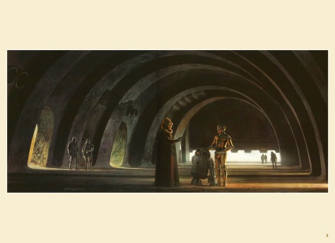 Return of the Jedi Portfolio by Ralph McQuarrie, Plate 2