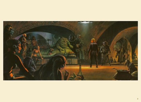 Return of the Jedi Portfolio by Ralph McQuarrie, Plate 3