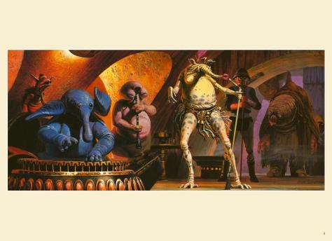 Return of the Jedi Portfolio by Ralph McQuarrie, Plate 4