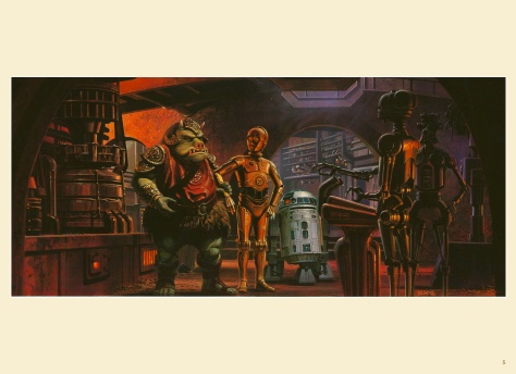 Return of the Jedi Portfolio by Ralph McQuarrie, Plate 5