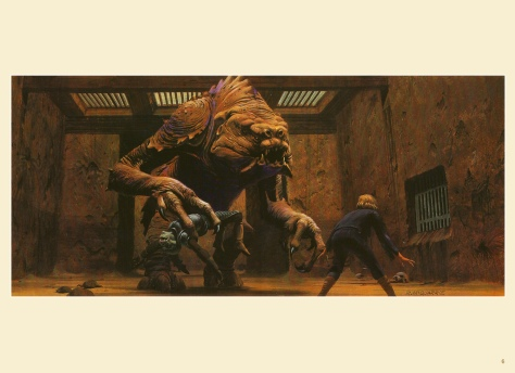 Return of the Jedi Portfolio by Ralph McQuarrie, Plate 6