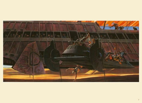 Return of the Jedi Portfolio by Ralph McQuarrie, Plate 7