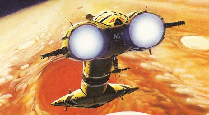 Paperback covers #8: Peter Elson's Space Ranger series