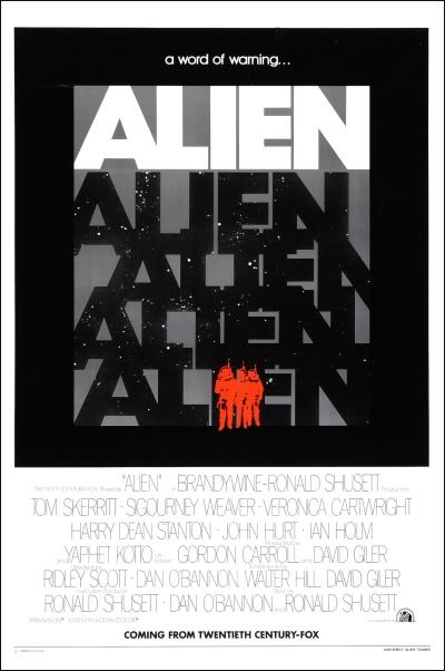 Alien teaser poster 1979