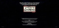 The Empire Strikes Back Portfolio, back cover