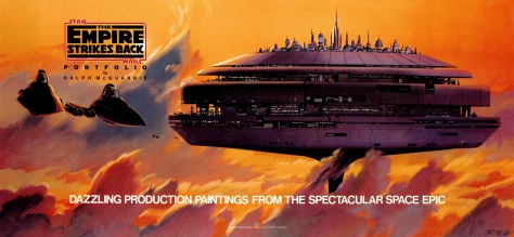 The Empire Strikes Back Portfolio. Artwork by Ralph McQuarrie.