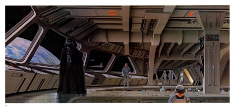 The Empire Strikes Back Portfolio, Plate 14 Artwork by Ralph McQuarrie