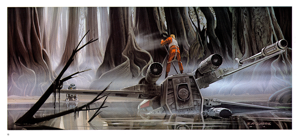Star Wars The Empire Strikes Back Portfolio Plates 13 24 1980 Tain T The Meat It S The Humanity