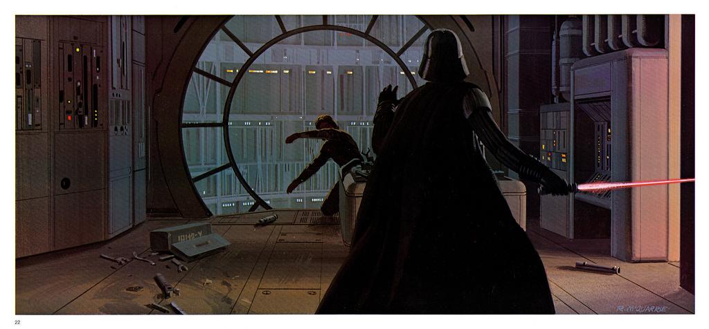 Star Wars The Empire Strikes Back Portfolio Plates 13 24