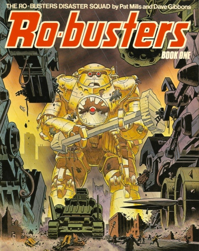 The Ro-Busters Disaster Squad, Book One. Artwork by Dave Gibbons