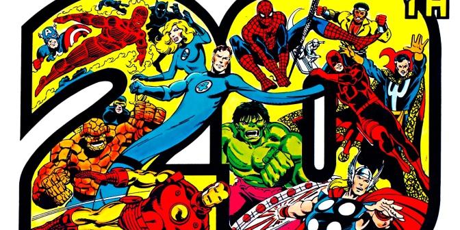 Marvel Comics' 20th Anniversary Calendar 1981