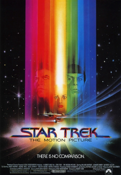 Star Trek The Motion Picture final poster (1979), artwork by Bob Peak