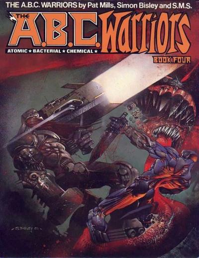 The A.B.C Warriors, Titan Books