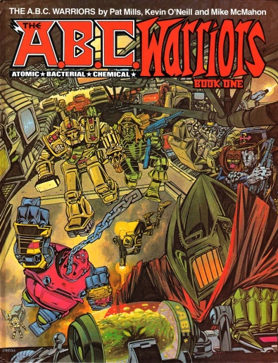 The A.B.C Warriors, Titan Books
