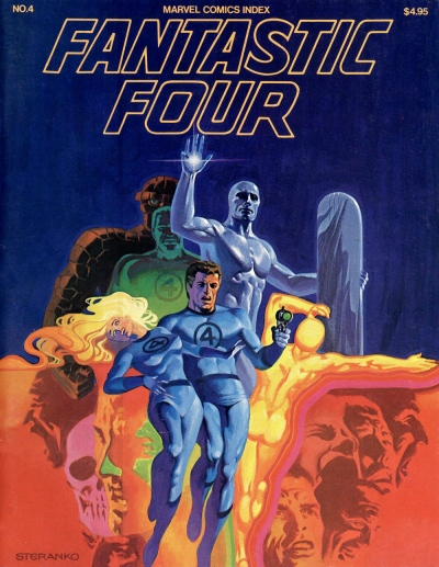 Marvel Comics Index #4, The Fantasic Four