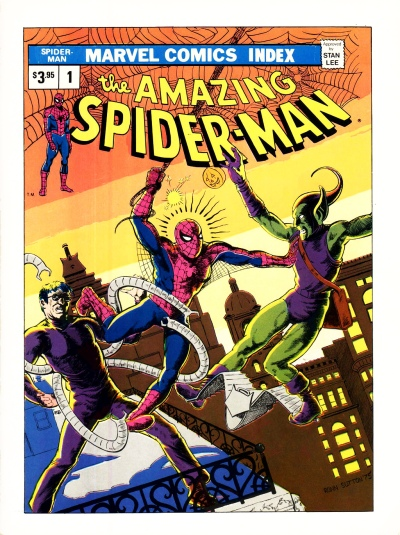 The Marvel Comics Index #01, The Amazing Spider-Man