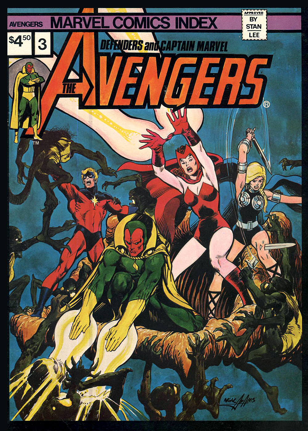 Marvel Comics Index, vols 1, 2, 3 and 4 (1976-77) | 'TAIN'T