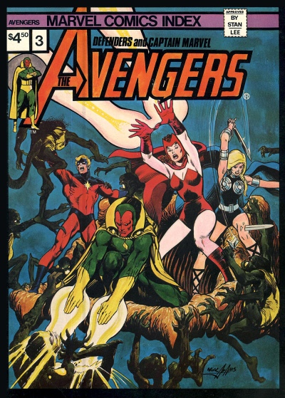 The Marvel Comics Index #03, The Avengers, Defenders, and Captain Marvel
