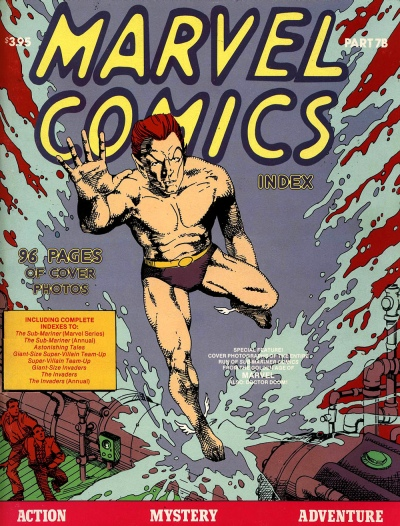The Marvel Comics Index #7B, Heroes from Tales to Astonish