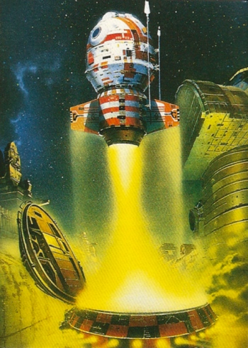Chris Foss Trading Cards #11