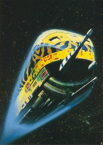 Chris Foss Trading Cards #13