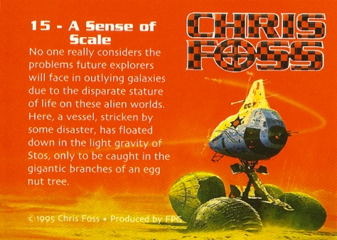 Chris Foss Trading Cards #15