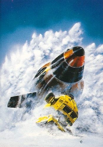 Chris Foss Trading Cards #16