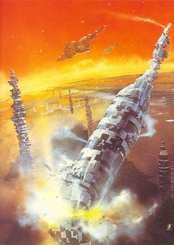 Chris Foss Trading Cards #17