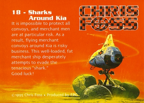 Chris Foss Trading Cards #18