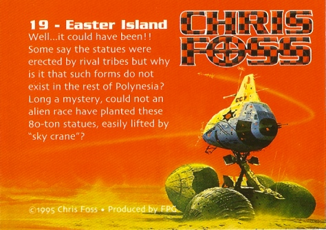 Chris Foss Trading Cards #19