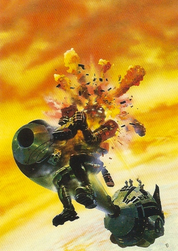 Chris Foss Trading Cards #3