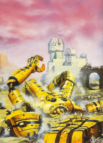 Chris Foss Trading Cards #5