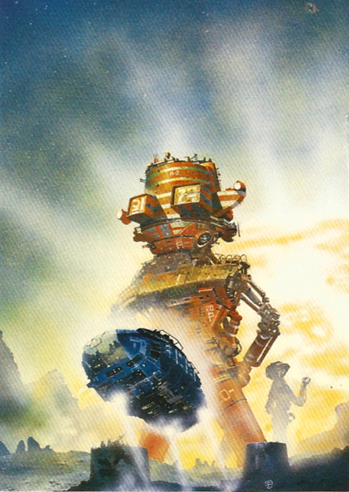 chris foss trading cards 120 1995 taint the meat