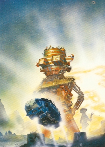 Chris Foss Trading Cards #6
