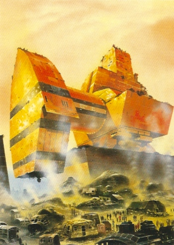 Chris Foss Trading Cards #7