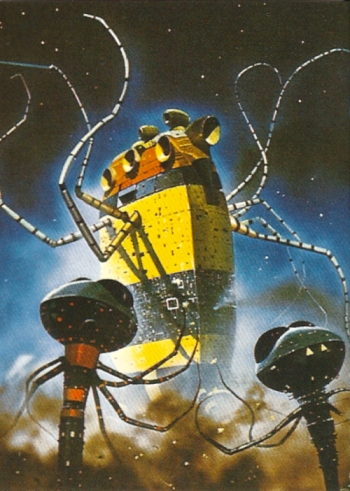 Chris Foss Trading Cards #8