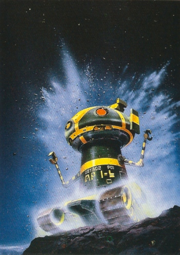 Chris Foss Trading Cards #9