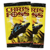 Chris Foss Trading Cards packet